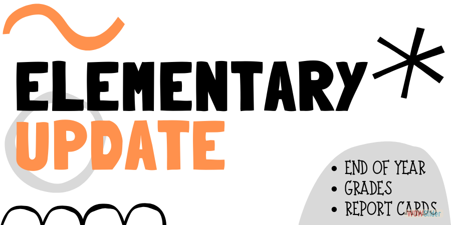 CLICK TO VIEW AN UPDATE ABOUT THE END OF THE YEAR!