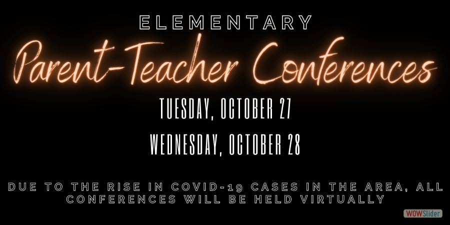 Elementary Conferences will be held virtually this fall!