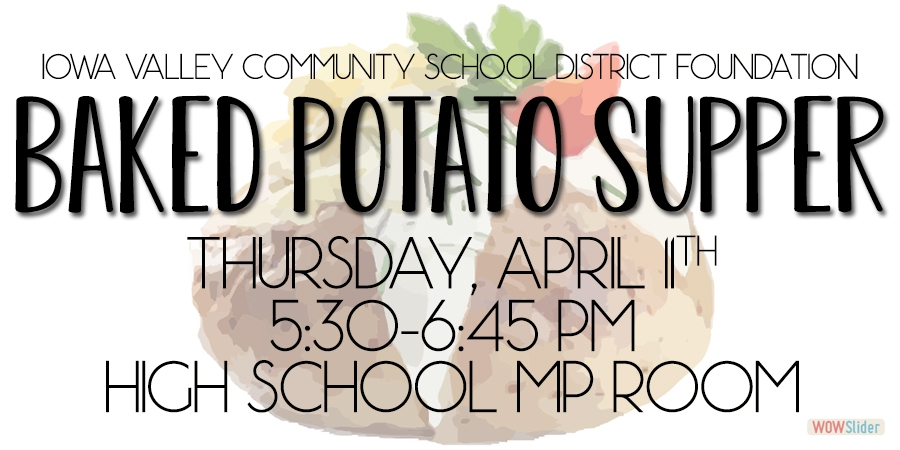 IVCSD Foundation Baked Potato Supper