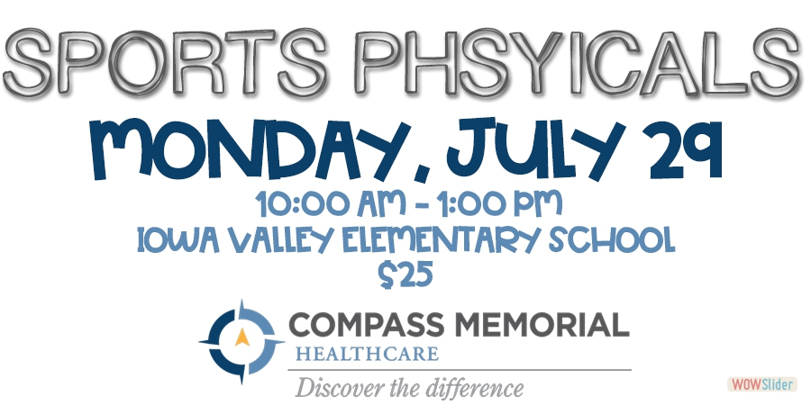 CLICK HERE TO LEARN MORE ABOUT SPORTS PHYSICALS