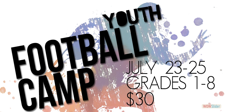 YOUTH FOOTBALL CAMP INFORMATION & REGISTRATION